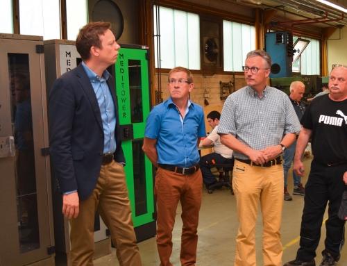 Ministerpräsident Tobias Hans – besucht WZB in Spiesen